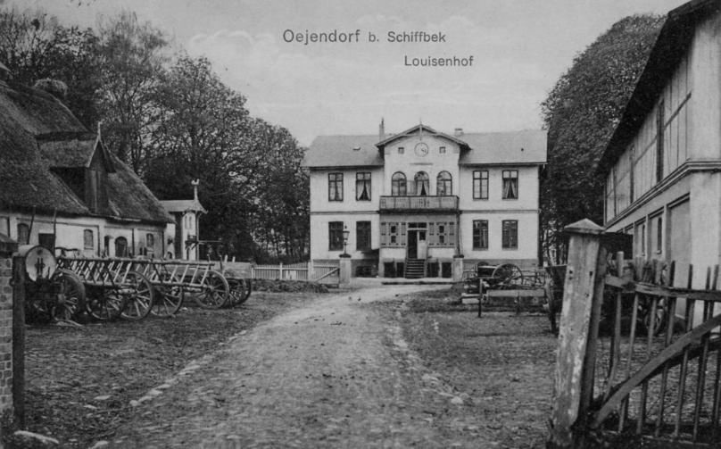Das alte Gutshaus des Luisenhofs